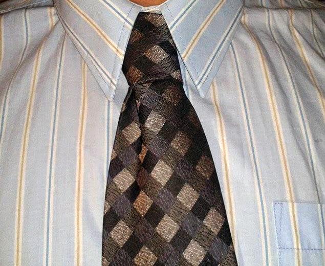 Kaklaraiščio mazgas Nr.7