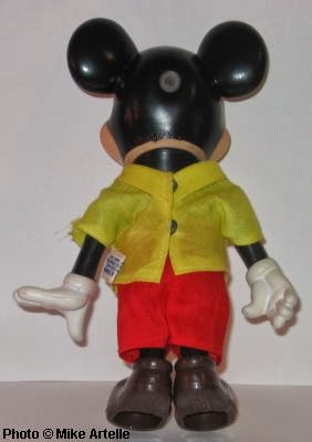 New Disney Pilot Minnie Mouse Small Doll Figure With Poseable  Arms and Legs