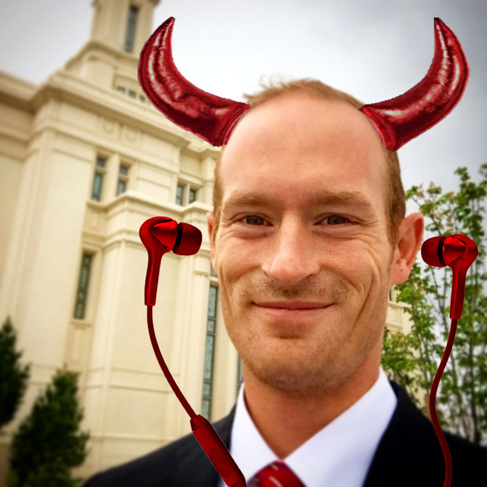 Walking Through The Payson Temple Open House...With Ear Buds