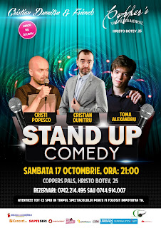 Stand-Up Comedy Sambata 17 Octombrie Bucuresti