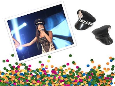 Anitta se apresenta em alto estilo com Quepe Policial, Dica Grupo Ágata!