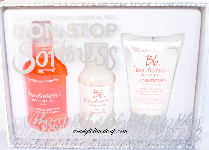 Review: Non Stop Softness - Bumble and Bumble [Idea Regalo Natale 2014]