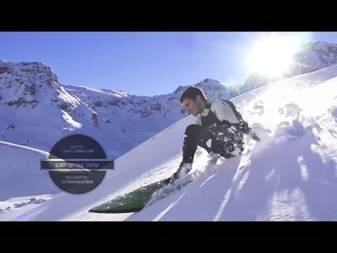 Surf On The Snow