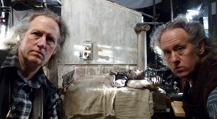Irmãos Quay, animadores americanos, estúdio em Londres, Christopher Nolan, Documentário