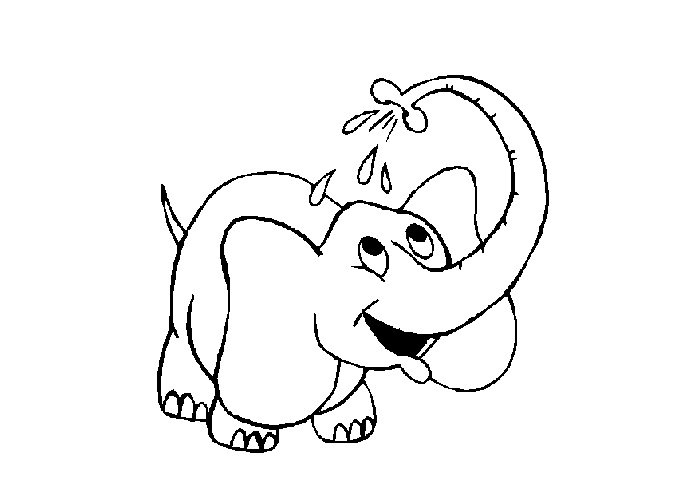 Transmissionpress baby elephant coloring pages for Elephant coloring pages