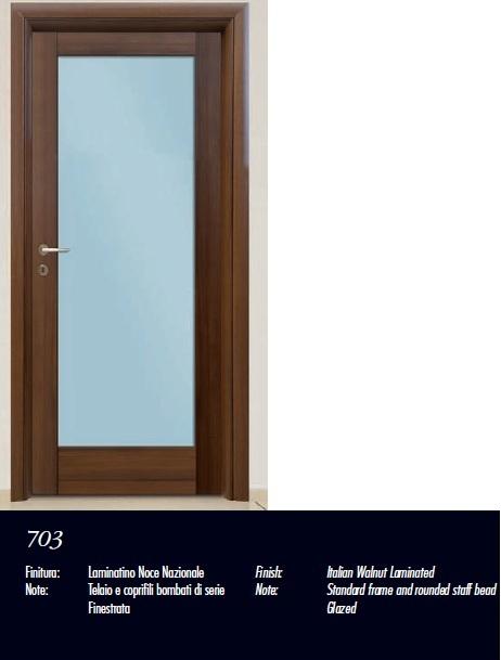 Made of wood puertas de interior modelos sindecor 3 parte for Puertas diseno italiano