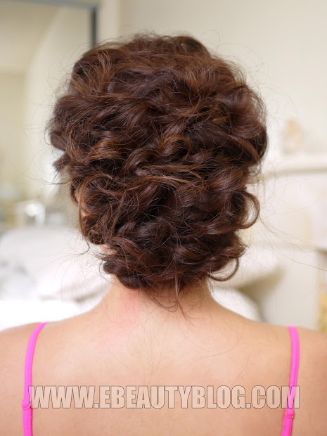 easy messy updo