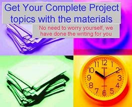 Students Project Materials