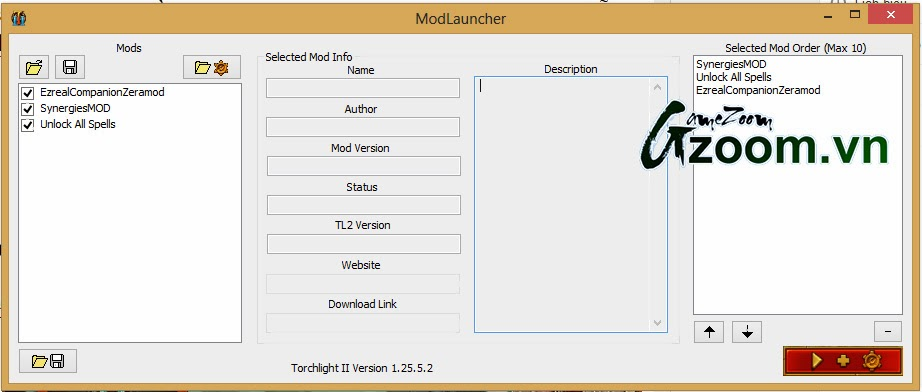 torchlight 2 reloaded mod launcher