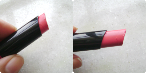 Oriflame Color Drop lipstick in Peach Sensation Review and Swatches,price in India