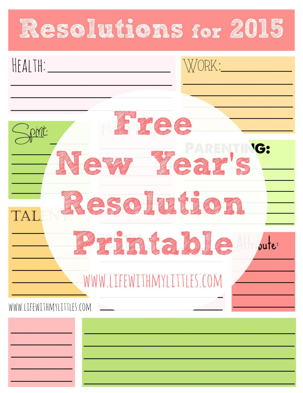 12 Printables Thatll Make Your New Years Resolution Stick – New Years Resolution Worksheet