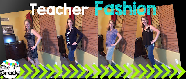 Stitch Fix fashion for teachers, 4 outfits in 5 pieces
