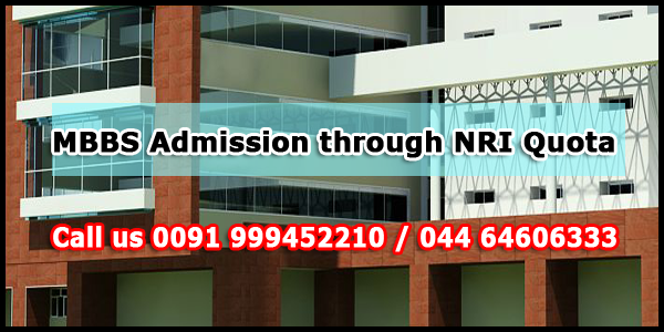 MBBS Admission through NRI Quota