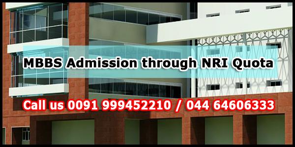 MBBS Admission through NRI Quota