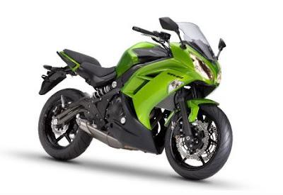 Harga dan Spesifikasi Kawasaki NINJA 650cc 4tak Terbaru 2012