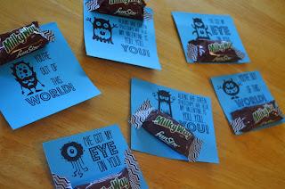FREE Printable Alien Valentines from Hi! It's Jilly. #valentines #printable #aliens #milkyway