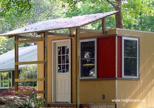 Micro casa norteamericana del programa HELP Carib Daniel Martin