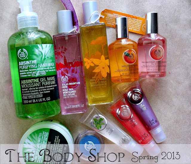 The Body Shop Spring 2013 Collection Makeup, Handcare, Fragrances