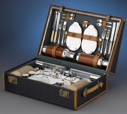 Picnic Sets For 6 Rolls Royce Picnic Set 1905