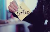 Sonríe.