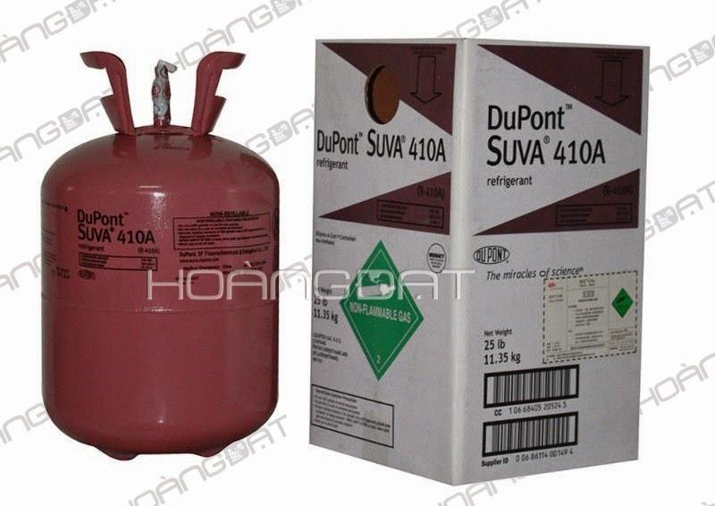 Ga lạnh DuPont™ Suva® 410A