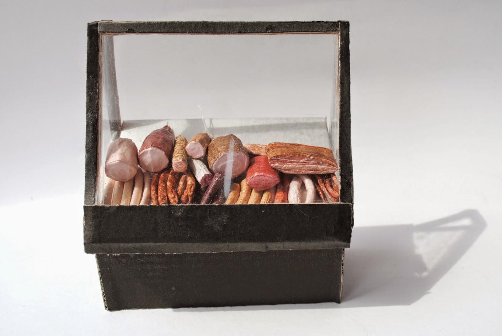 miniaturki wędlin, miniature meat