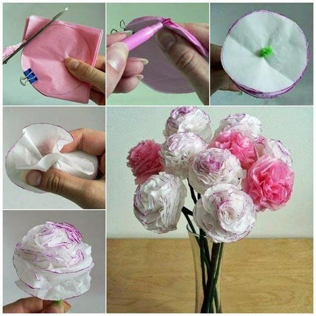 Bien-aimé Come fare i fiori di carta IL03