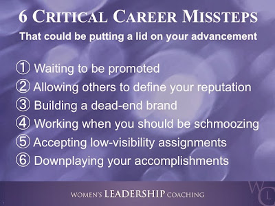 6 Critical Career Missteps
