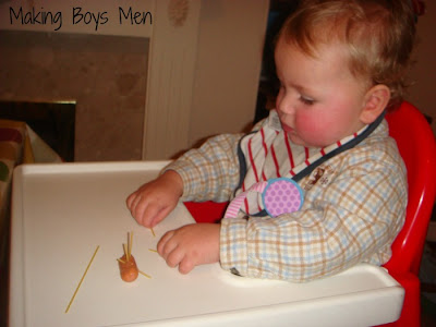 Things to do with spaghetti and kids