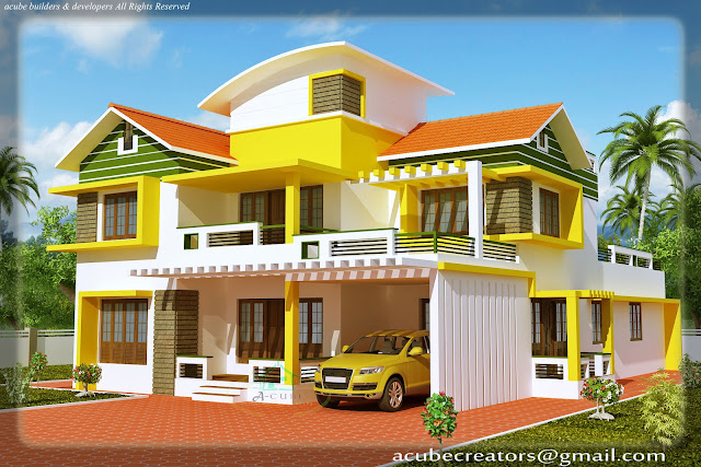 Duplex house elevation 2700 sq ft plan 114 for 2700 sq ft house plans