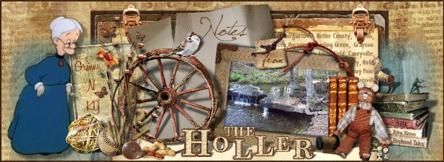 NOTES FROM THE HOLLER