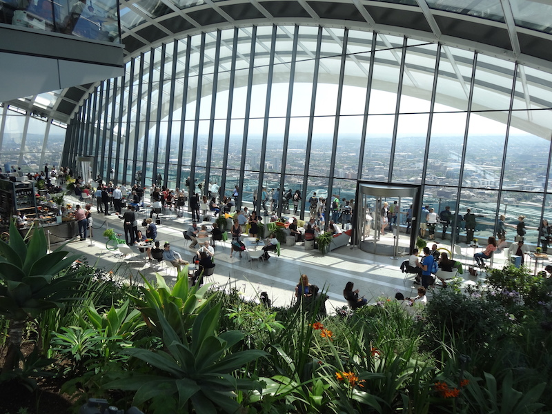 Skygarden London Atrium