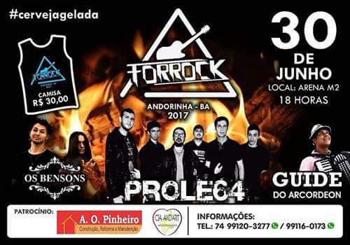 CONFIRA AS FOTOS DO FORROCK 2017,