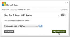 Instal Windows 7 Menggunakan Flashdisk