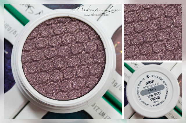 Colourpop Super shock shadow cricket swatch