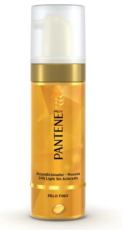 Por un lado, el Acondicionador,Mousse 24h light sin aclarado, pensado para  hidratar y fortalecer el cabello gracias a la pro,vitamina B5 (pantenol),