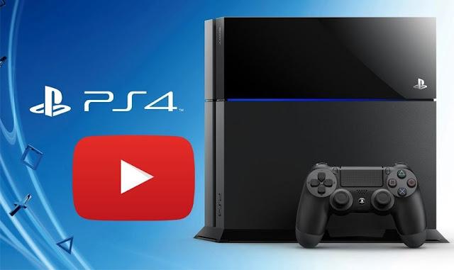 Tienes un PS4? ya podrás hacer streams a YouTube