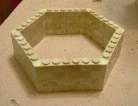 Piezas para torres hexagonales