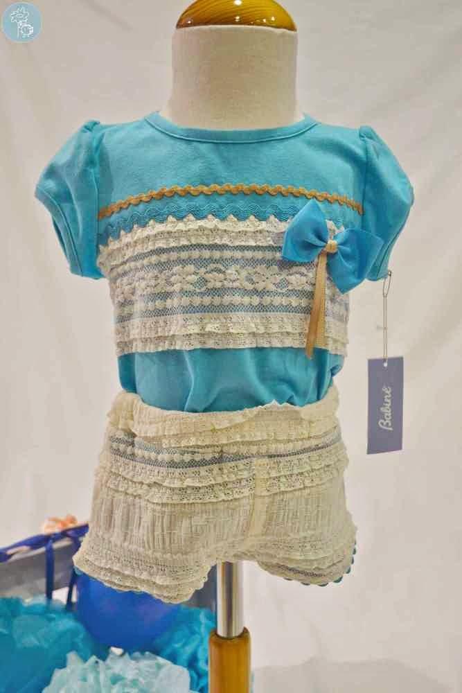 Conjunto Babiné en tienda y blog Retamal moda infantil y bebe