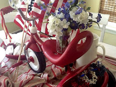 Tricycle Centerpiece