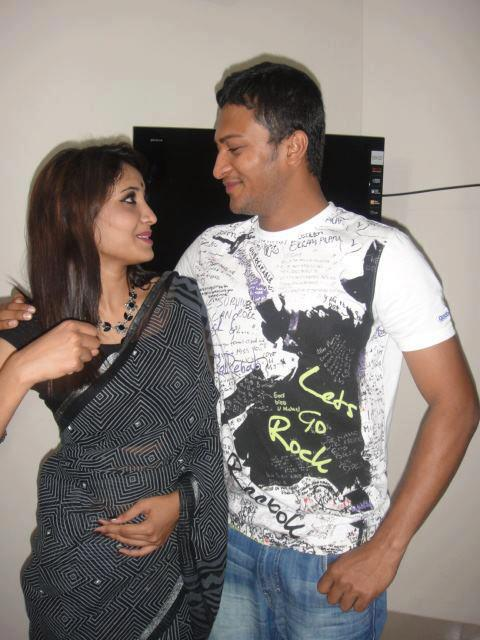 shakib al hasan with his Girlfriend