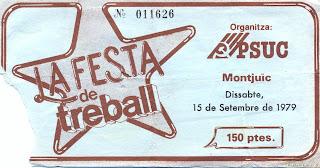 entrada la festa del treball 1979