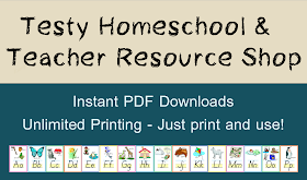 Testy Homeschool & Teacher Resource Shop thumbnail