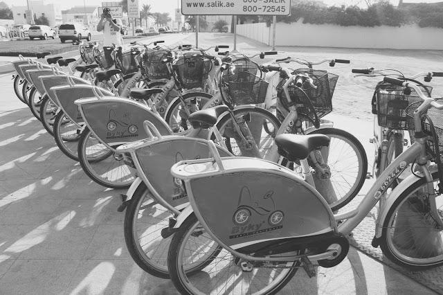 biking in Jumeirah