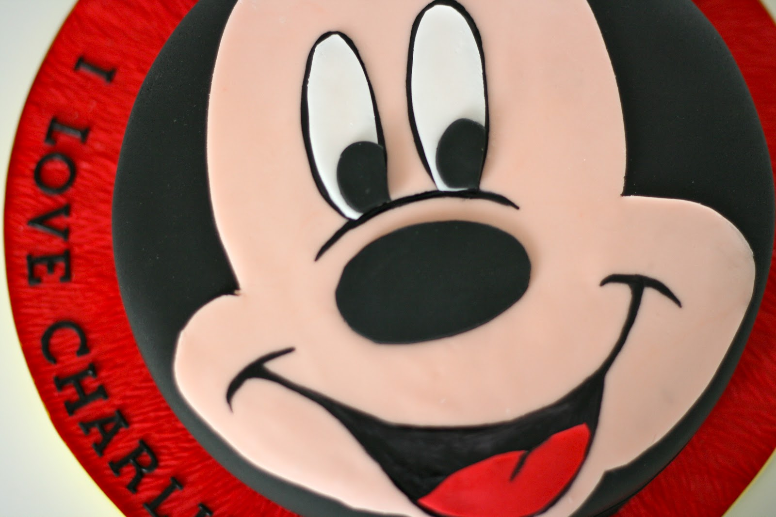 Mouse Mickey Template Cake Ideas