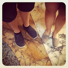 Travelling feet                          - vårt lille ferieprosjekt