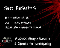 Pranesh 2nd Place - SEO Contest