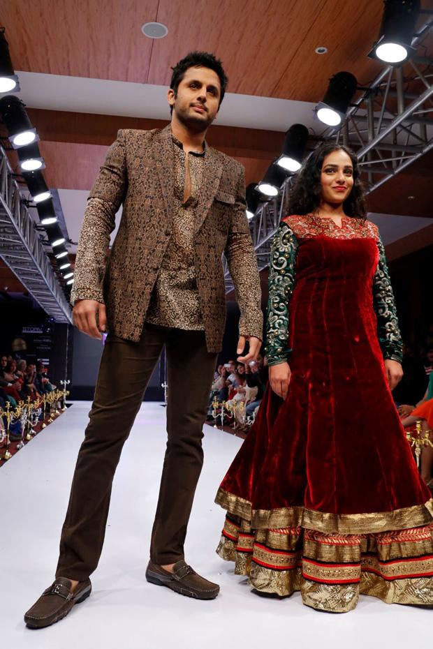 Nitin,Nitya Menon  At Blenders Pride Fashion Week