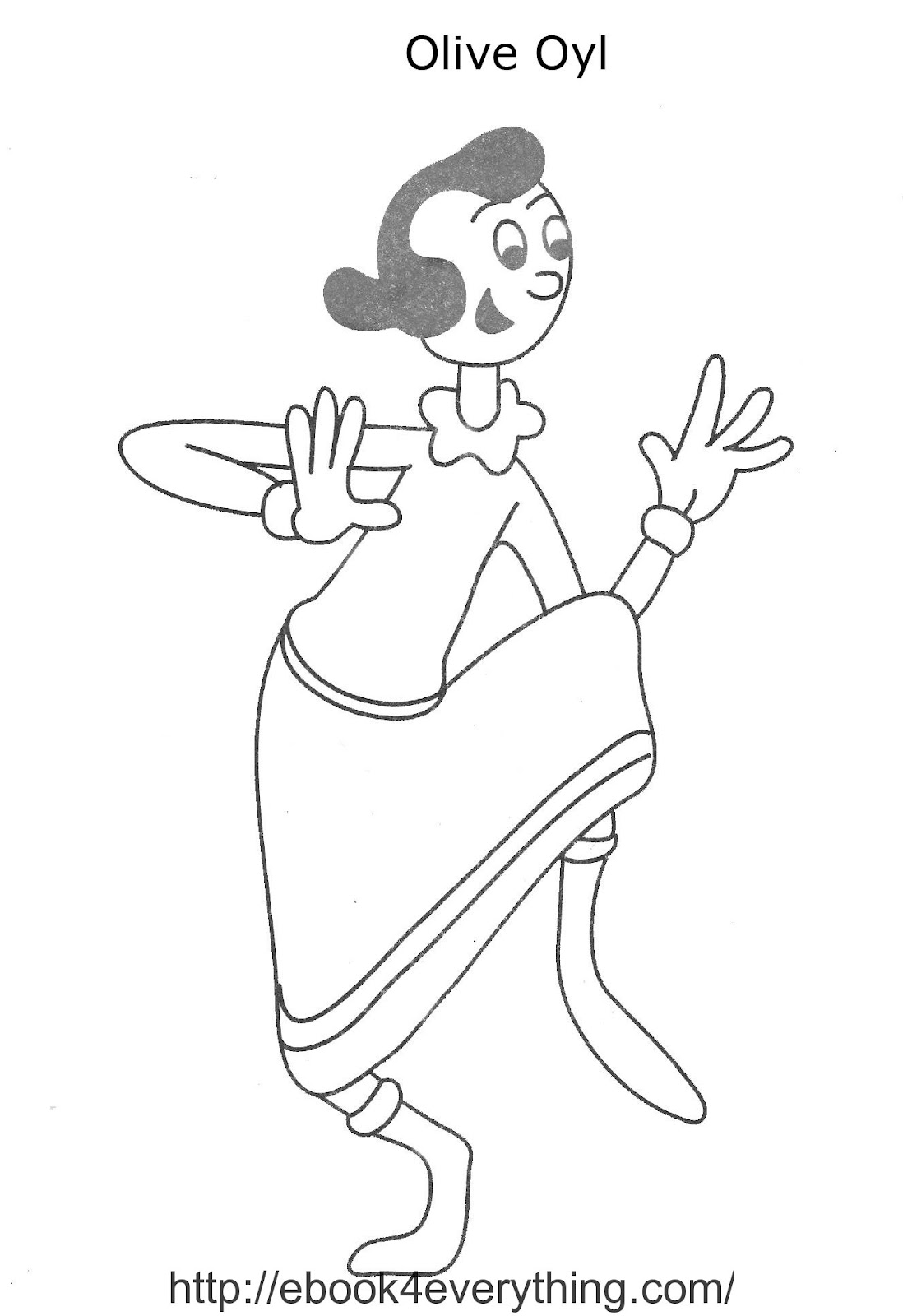 popeye coloring pages printable free printable pictures coloring