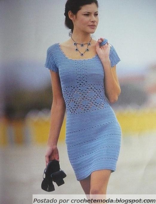 Голубое платье. 30563